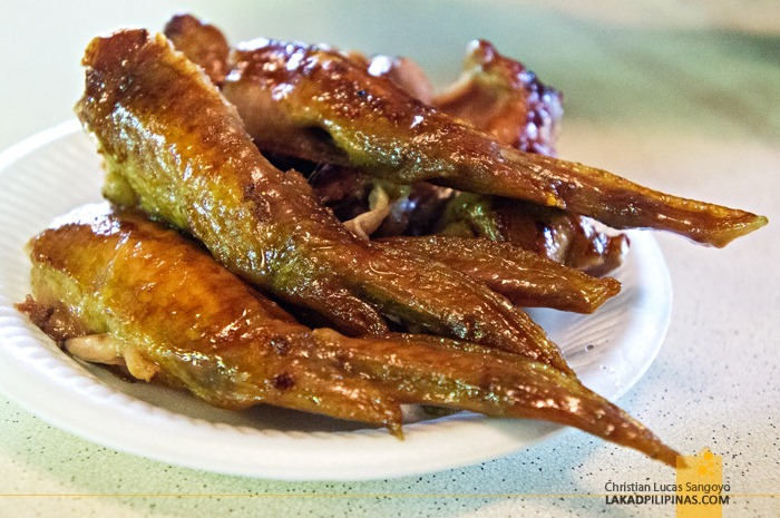 Chicken Wings from the Hawker Stalls at Singapore's Newton Circus