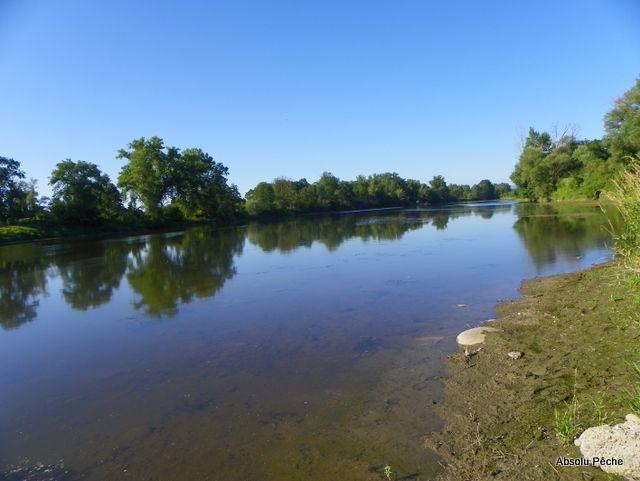 Loire rive droite aux Chambons à Marclopt photo #1223
