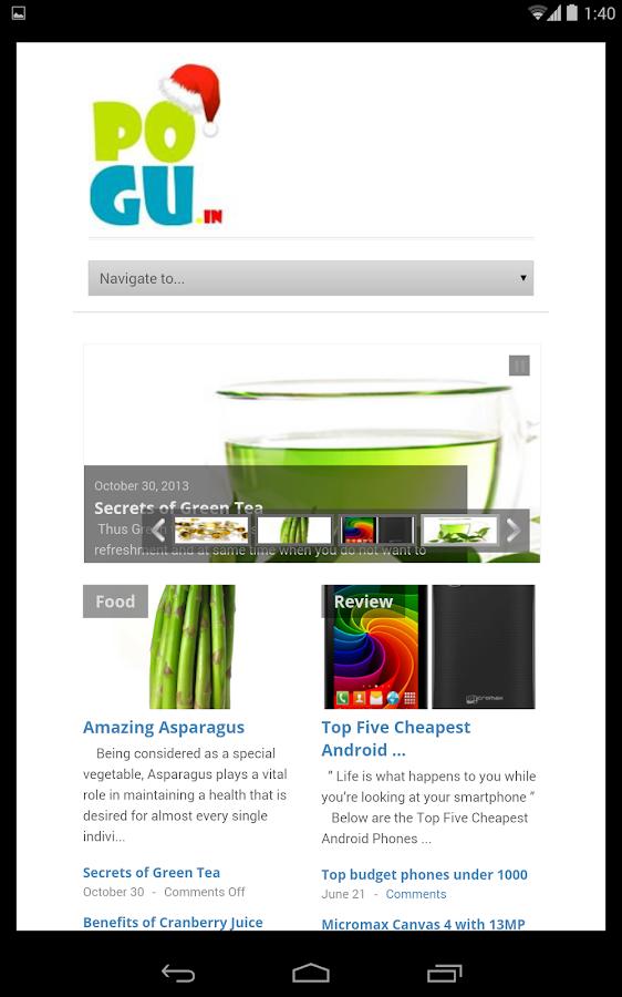 Pogu - screenshot