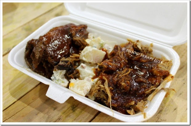 Good Food and Wine Show 2014 - Bbq Joint Mixed Bbq Plate © BUSOG! SARAP! 2014