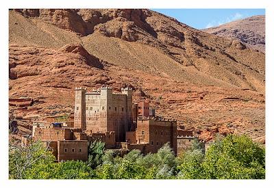 Im hohen Atlas: restaurierte Kasbah