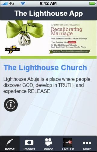 The Lighthouse App