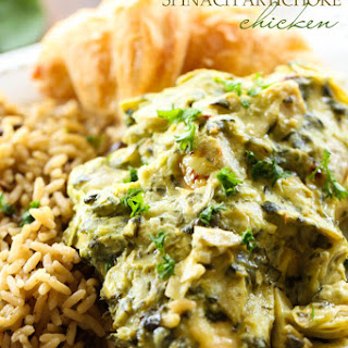 Creamy Spinach Artichoke Chicken