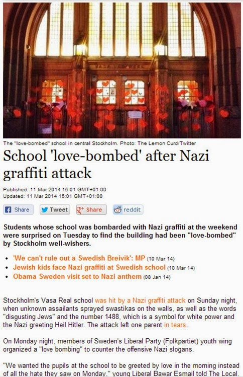love bombed school