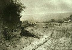 Ferdinand Coste - Matinee de mai en morvan - 1897