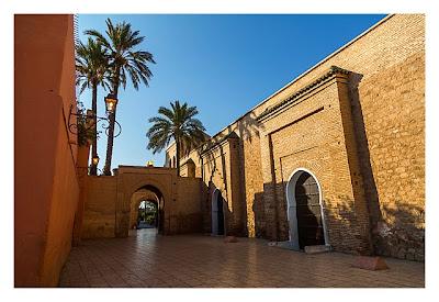 Marrakesch - Koutobia - Am Eingang