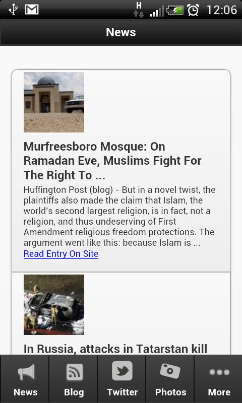 Islamic News Live - screenshot