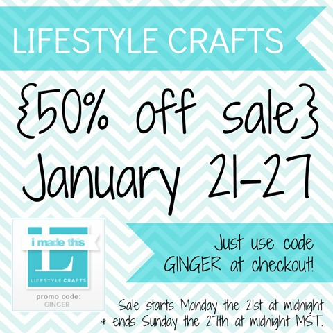 Lifestyle Crafts sale