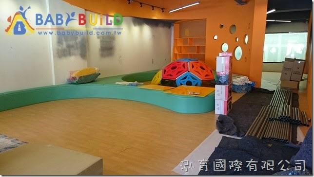 BabyBuild 室內3D泡管兒童遊具施工位置確認 & 空間淨空