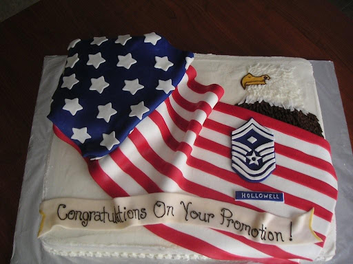 Air Force Promotion Cake Ideas And Designs
