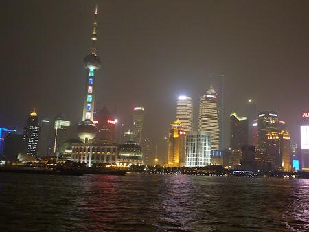 Obiective turistice Shanghai: Shanghai noaptea