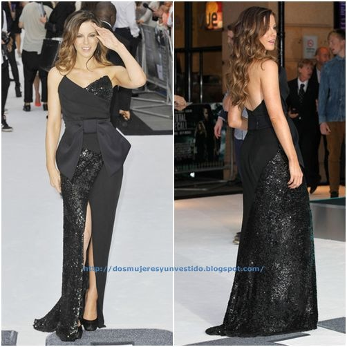 Kate Beckinsale-Premiere Total Recall London