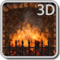 Realistic Fireplace icon