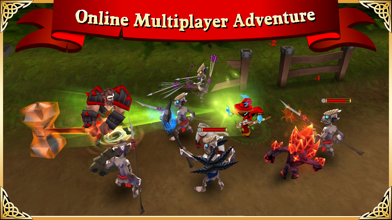 Arcane Legends: MMORPG - screenshot