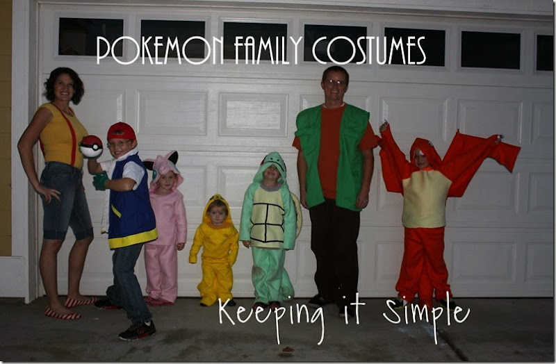 pokemon family costumes
