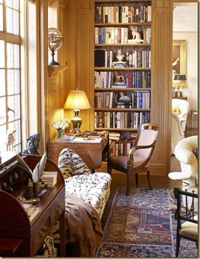 Beautiful Home Library Rooms: The Shade Shop: READING ROOMS…