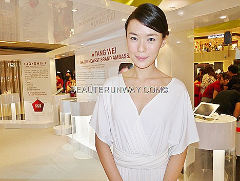 Rebecca Lim at SK-II Singapore Miracle House Tangs Vivocity