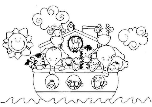 Dibujo De Arca De Noe