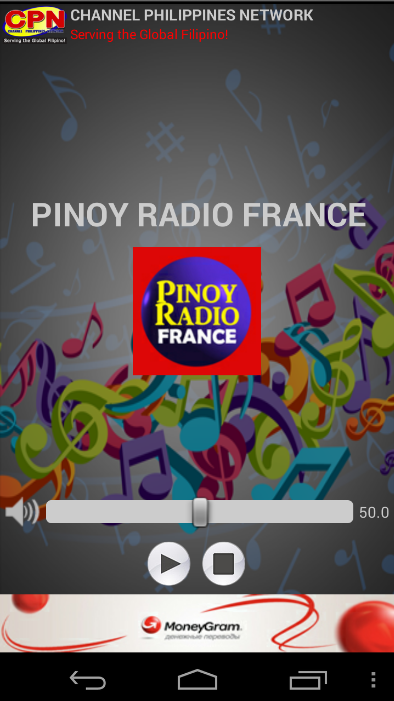 Pinoy Radio France- screenshot