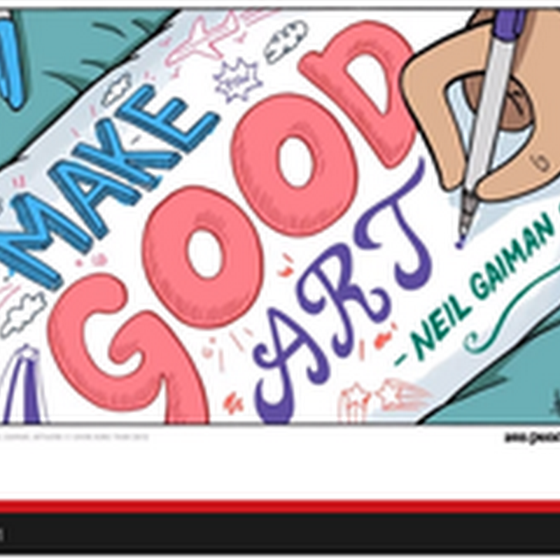 5 Inspirational Youtube Videos for Artists - Make Good Art