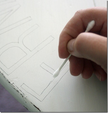 fixing carbon paper mistakes via The Shabby Creek Cottage