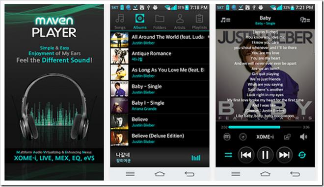 Download MAVEN Music Player (Pro) v1.18.76 Apk File Direct