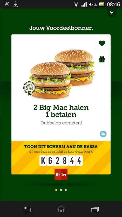 McDonald's Nederland - screenshot