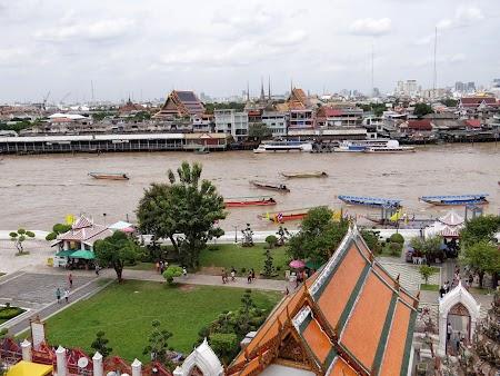 8. Chao Praya, fluviul din Bangkok.JPG
