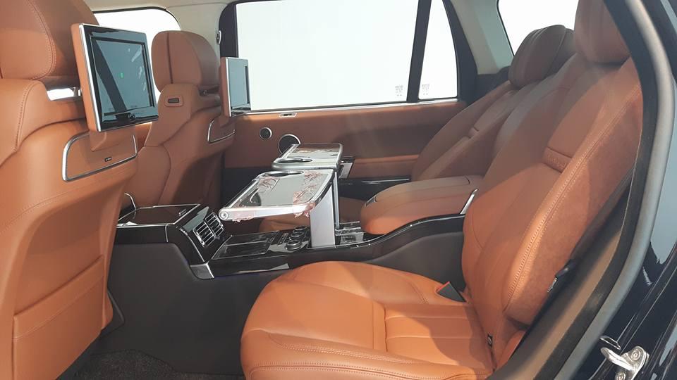Nội thất xe Land Rover Range Rover SV Autobiograp 012