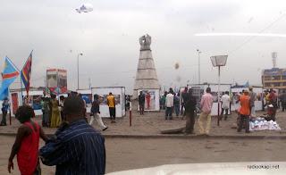 Place Victoire à Kinshasa