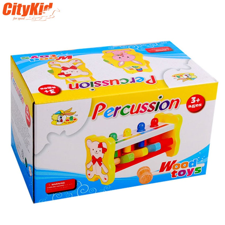 Bộ gõ gỗ cho bé Percussion Toys-02