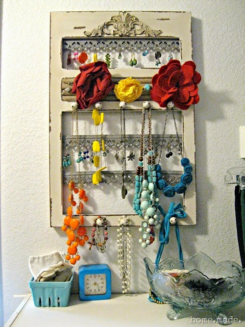 Organized Jewelry Station