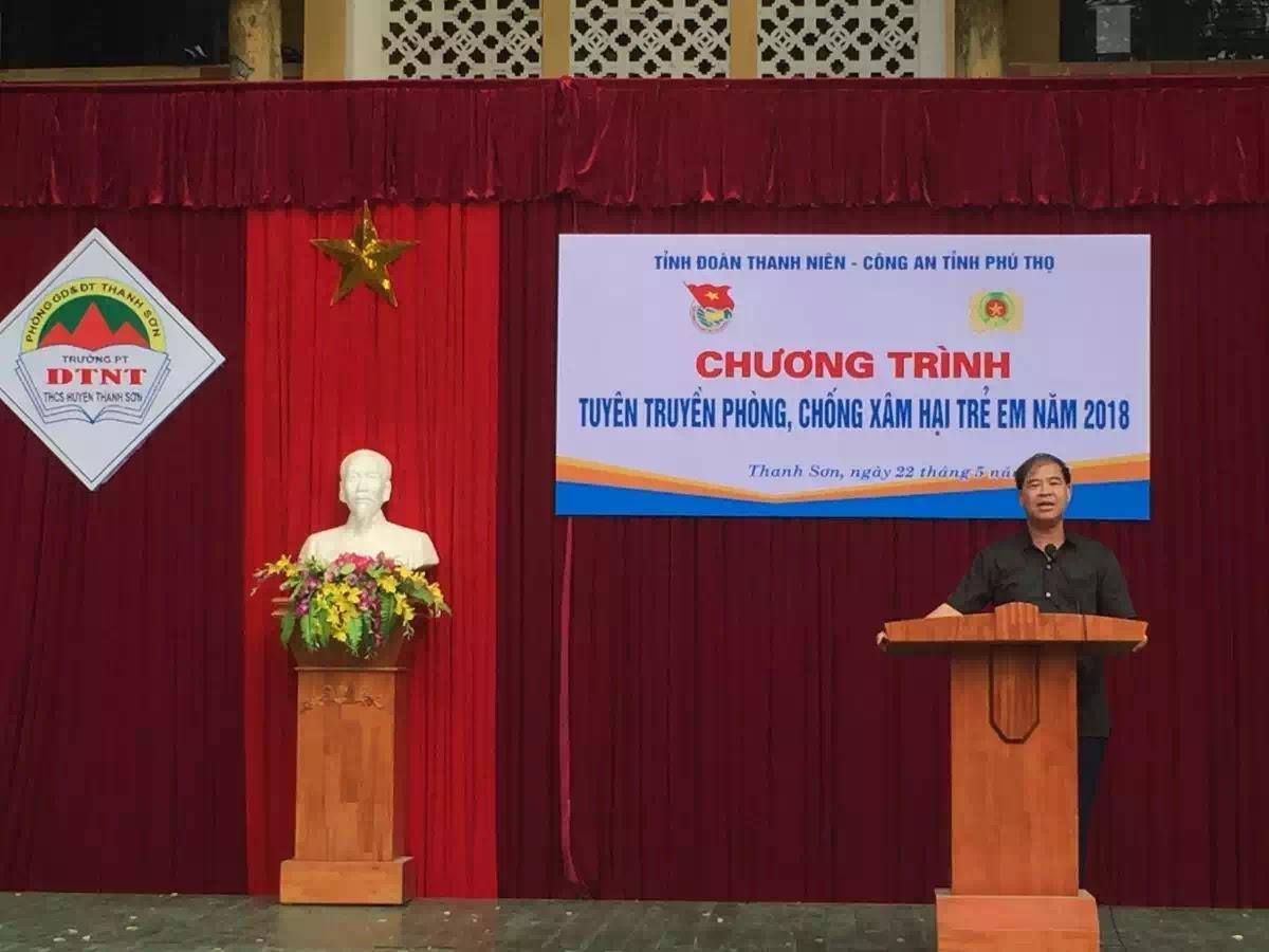 Đinh Bằng My, Hiệu trưởng Trường PTDTNT Thanh Sơn