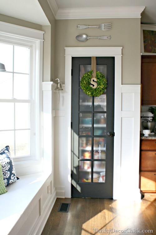 glass pantry door