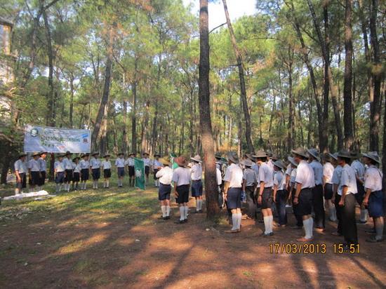 TraiDungThuaThioem2013 31 BHD GĐPT Thừa Thiên tổ chức Trại Dũng năm 2013