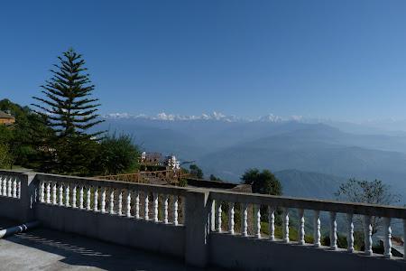 Frumuseti Nepal: panorama Himalaya Nagarkot