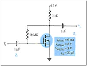 MCQs in FET Amplifiers Fig. 13