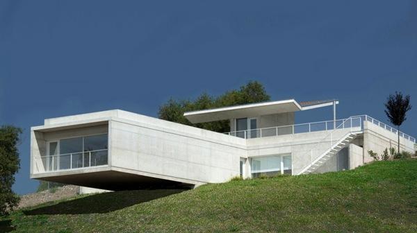 Casa moderna en Etura de Roberto Ercilla Arquitectura