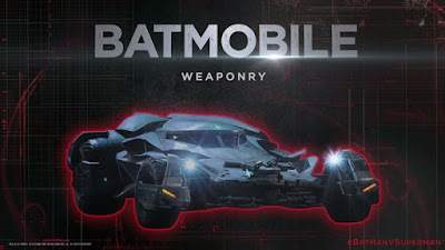 Get a close look at the Batmobile Weaponry BatmanvSuperman UltimateEdition