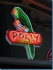 0950 Alberta Calgary - Heritage Park Historical Village - Gasoline Alley Museum - vintage neon Polly Gas sign