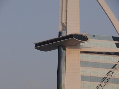 Barul suspendat de la Burj al Arab