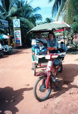 Transport Siem Reap: Tuk tuk cambogia