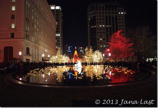 Christmas Lights on Temple Square in Salt Lake City