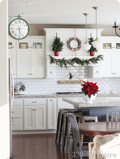 320 sycamore kitchen christmas