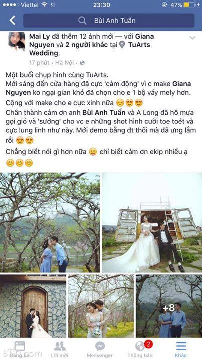 FEEDBACK  Quý khách hàng chụp ảnh cưới tại TuArts Wedding <3