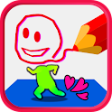 Draw→Moving! for Kids/Child icon
