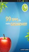 Screenshot of 99 Tipps für mehr Gesundheit