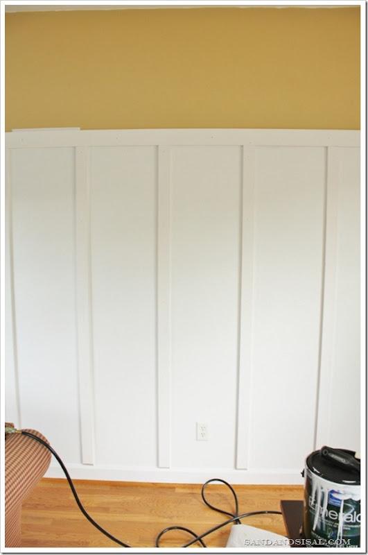 Installing Board & Batten
