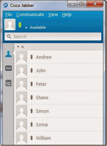 Information Technologies: Porting OCS contacts over to Jabber