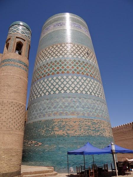 Obiective turisitce Uzbekistan: Minaretul Kalta Minor
